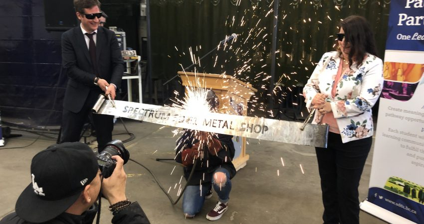 Spectrum Metal Shop Ribbon Cutting Ceremony